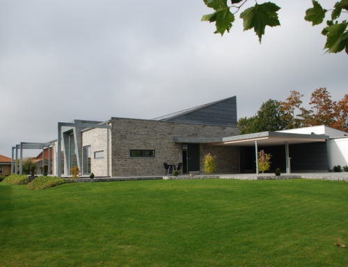 SIB Zero hus – Danmarks første +hus